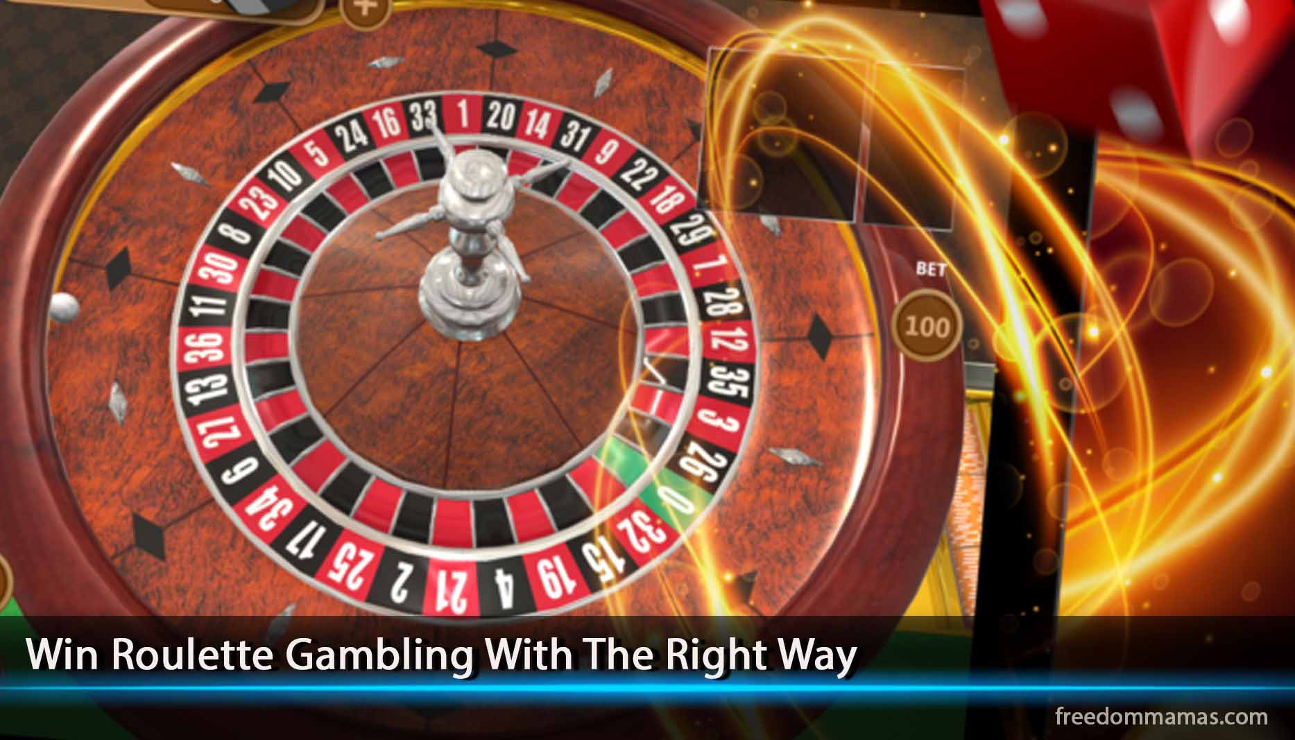 Win Roulette Gambling With The Right Way